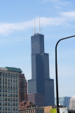 The Sears Tower which is the tallest building in Chicago.
