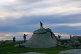 Sunset Dog Rocks