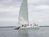 Catamaran en Bahia Delfin