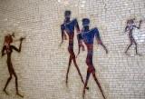 Mosaic at Lincoln Center subway stop