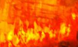 Fire art at Nami