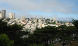 Looking down from Telegraph Hill