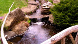 Hofstra University Garden Waterfall