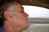 Self portrait while driving across the Whitestone Bridge