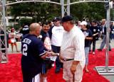 Bambino greets his fans