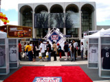 Lincoln Center invaded by Yankees fans