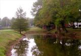 A  misty Fall morning