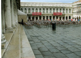 piazza san marco after the rain