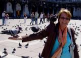 feeding pigeons is fun ???