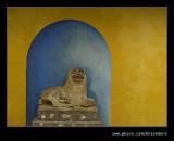 Stone Lion, Portmeirion 2007