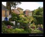 L-R #1 Round House, Bell Tower, Government House, The Dolphin, Portmeirion 2007