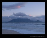 Table Mountain from Blouwbergstrand