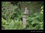 Leafy Statue, Hidcote Manor