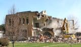 Demolition of the schools
