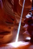 Beams of Light at Upper Antelope Canyon, AZ