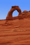 Closer View of Delicate Arch