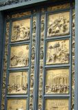 Baptistry's 'gates of paradise' by Lorenzo Ghiberti