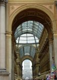 In Milan, world's first indoor shopping mall