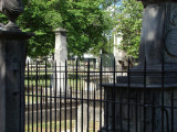 The old city cemetery in Nashville