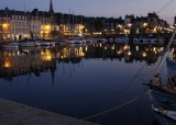 Reflections at Honfleur