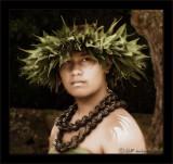 Kahiko Hula Dancer