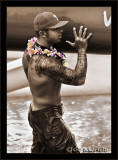 Nakoa Carrying Canoe:  Lei Dendrobium