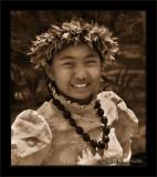 Keiki Hula Smile Two (Sepia)