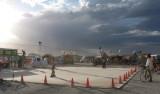 I skated at this desert RollerDisco