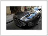 Aston Martin cabriolet front