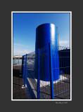 Blue tank
