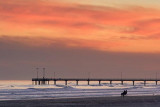 Pier At Sunset 46622