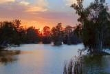 Lakes Park Sunset 56778