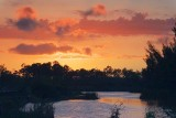 Lakes Park Sunset 20070316