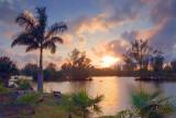 Lakes Park Sunset 56873