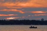 Fishing Under Sunset Sky 20070830