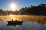 Swimming Raft Under Rising Sun 66351