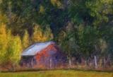 Hillside Barn 67393 Art