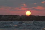 01819 - Sunset / Tel-Aviv beach - Israel