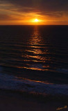 03656 - Sunset / Netanya beach - Israel