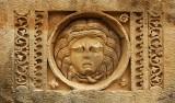 06343 - Myra amphitheater decorations... / Demre - Antalya - Turkey