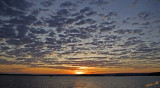 12959 - Sunrise / Lake Kariba - Zambia