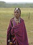 13721 - Masai / Masai village - Serengeti - Tanzania