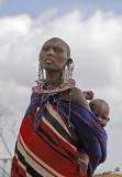 13729 - Masai / Masai village - Serengeti - Tanzania
