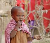 13744 - Masai / Masai village - Serengeti - Tanzania