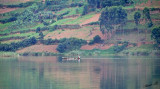 14222 - Sailing alone | Lake Bunyoni - Uganda