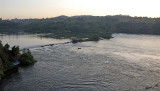 14456 - Alone against the current | Nile river / Jinja - Uganda