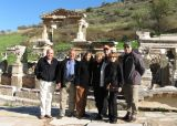20061115 084.jpg The Boylan group in front of the Trajan's fountain.