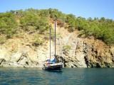 A Blue Voyage yacht