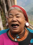 happy Wancho lady