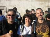 Luis, Joana e Eduardo